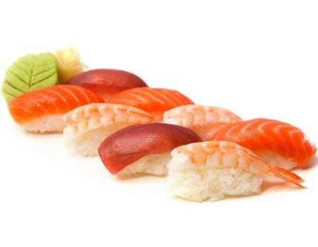 Nigiri, Gunkan Суши, Sashimi