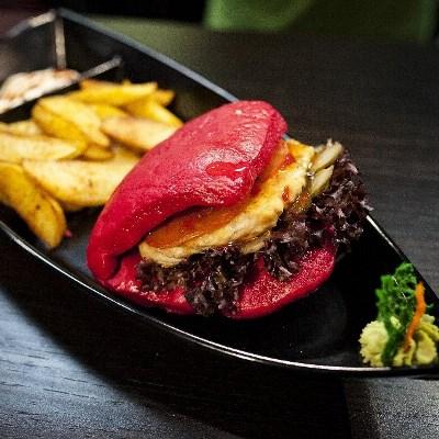 Японский бургер